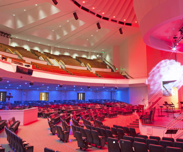 First Baptist Church of Jacksonville – Ruth Lindsay Auditorium Renovation