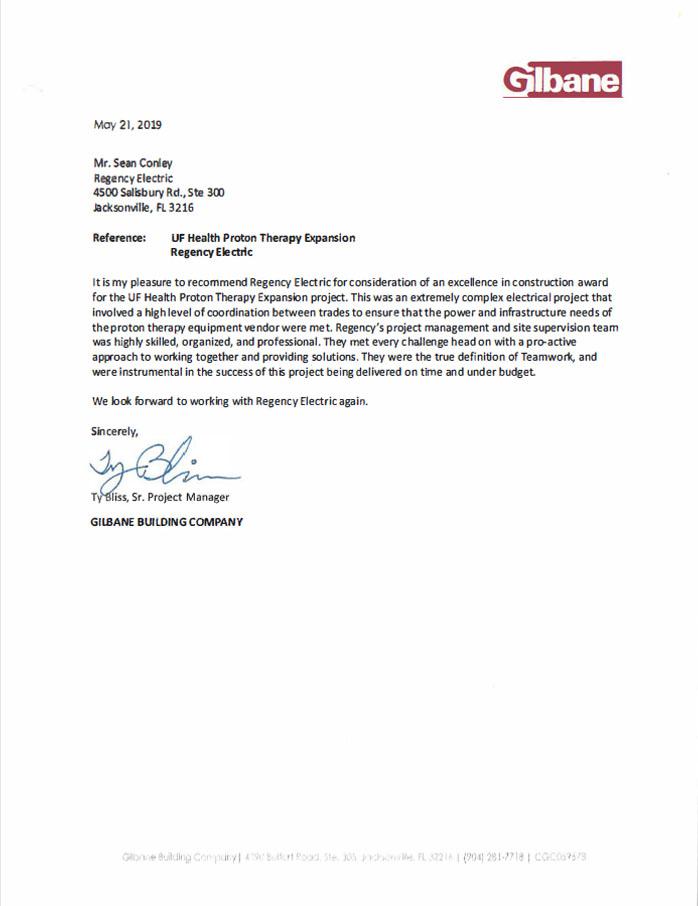 Gilbane Building Company Testimonial